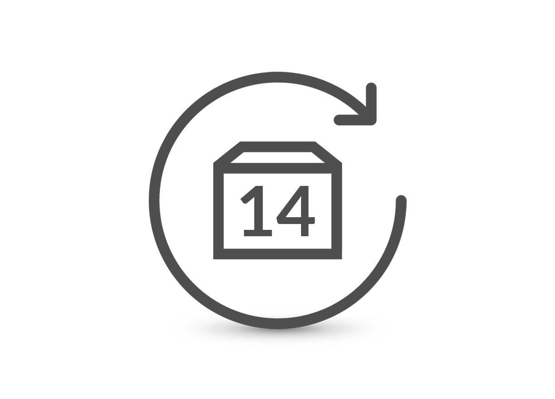 استرجاع  المنتجات بكل سهولة خلال 14 يومًا.
