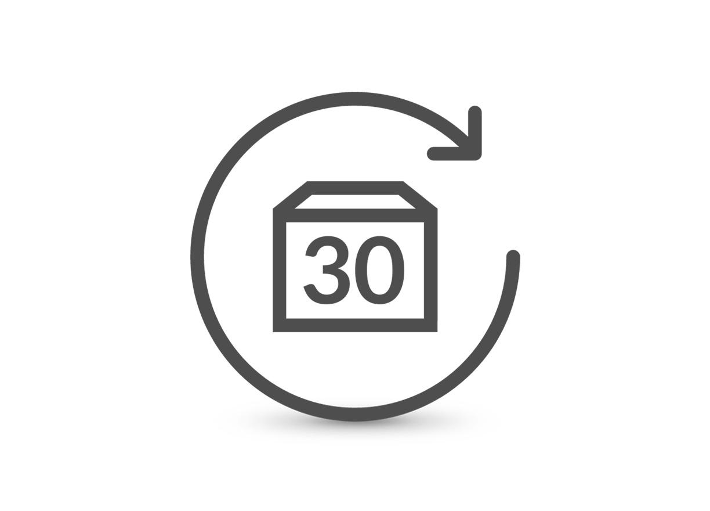 استرجاع  المنتجات بكل سهولة خلال 30 يومًا.