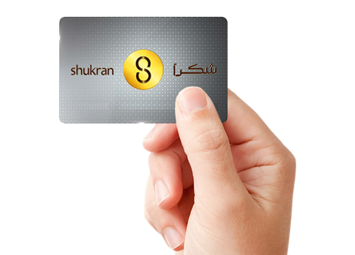 Earn and spend valuable Shukrans for instant savings.