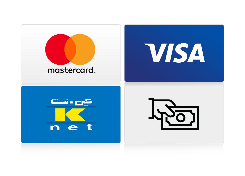 Many ways to pay