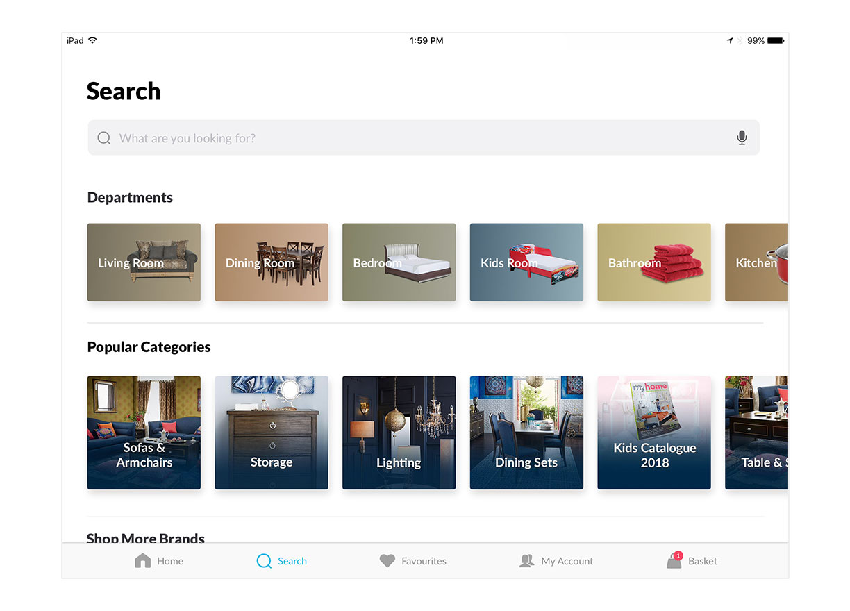 Experience our simpler, faster & smarter search.